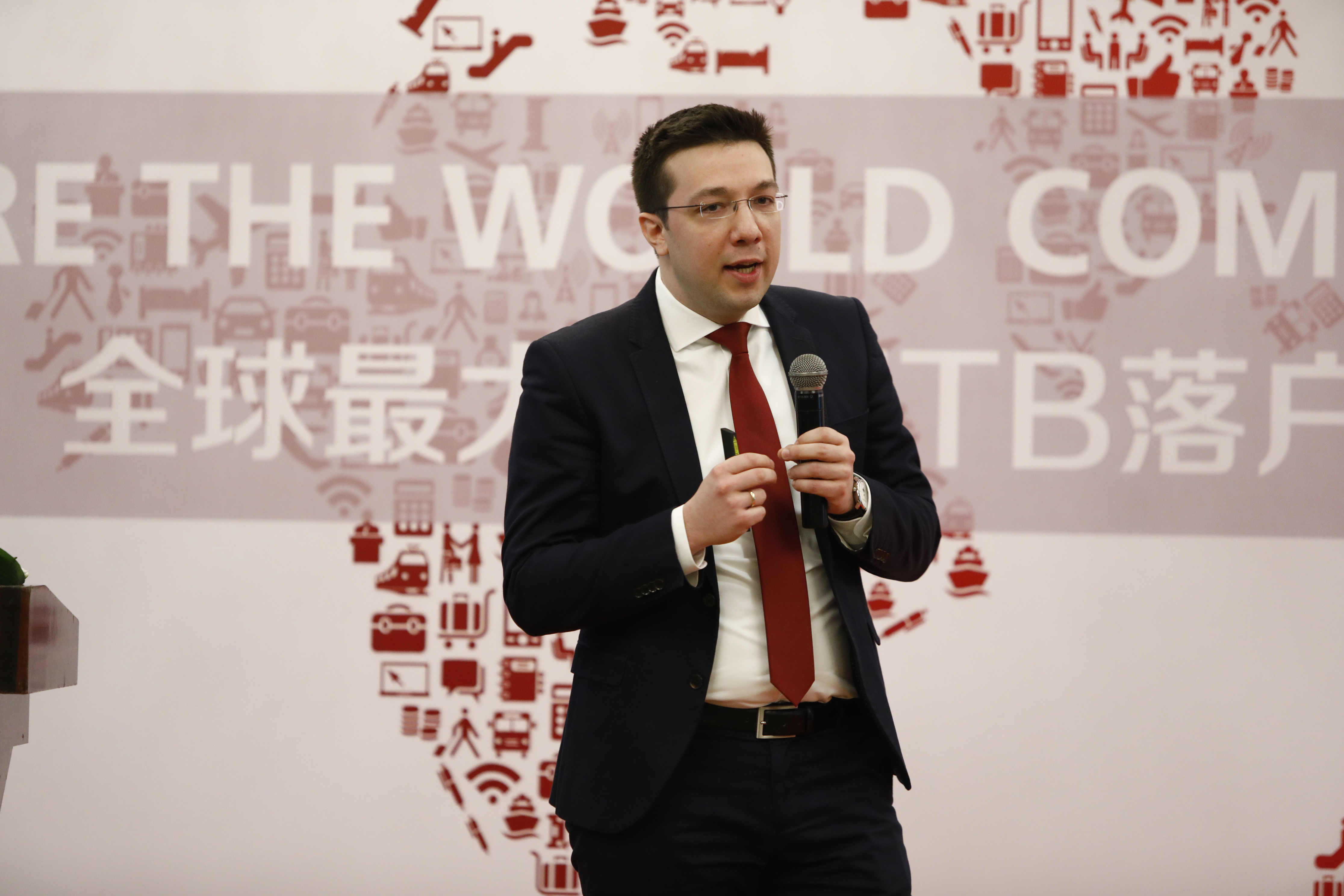 David Axiotis from ITB China