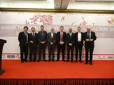 Speakers at the ITB China