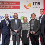 The speakers at the ITB China Preview Event 2018